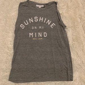 Spiritual Gangster 'Sunshine on my Mind' Tank XS